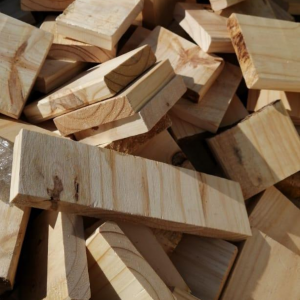 Pine off-cuts